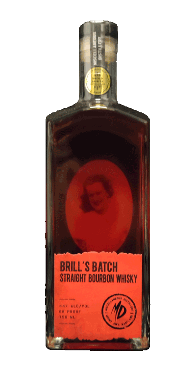Brill's Batch Straight Bourbon Whisky